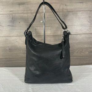 Coach Bucket 9186 Black Leather Shoulder Bag